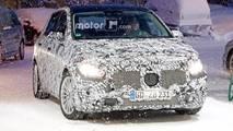 Mercedes-Benz B-Class Snow Spy Shots