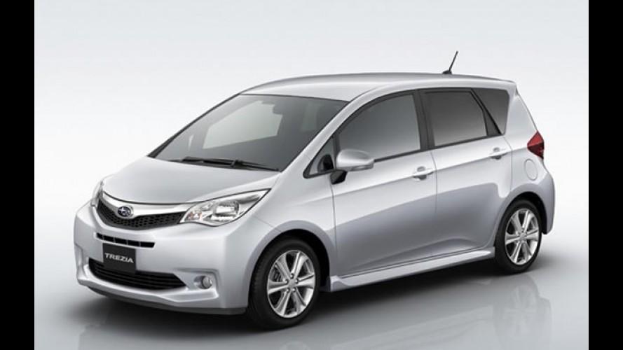 Subaru apresenta a nova minivan compacta Trezia