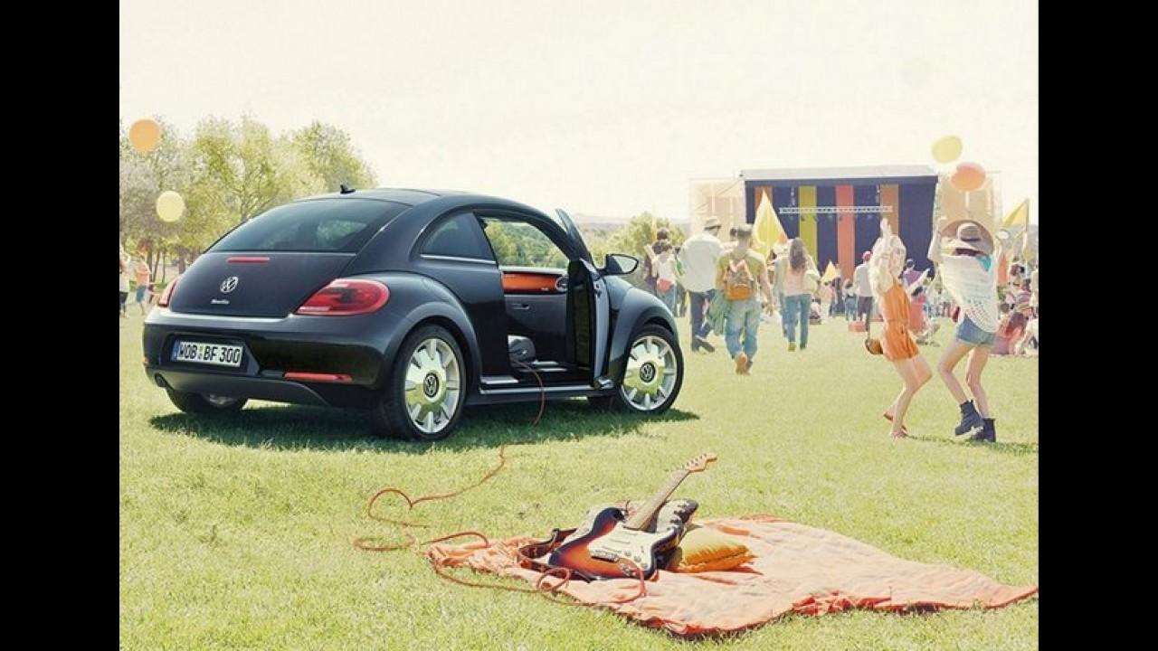 Volkswagen Fusca agora é Rock and Roll -  Marca lança Beetle Fender no Reino Unido