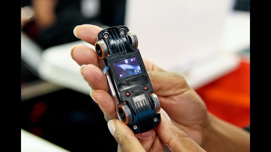 Nova linha de carrinhos Hot Wheels terá câmera embutida