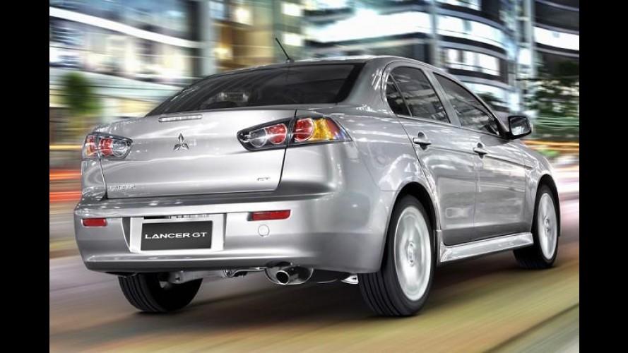 Mitsubishi Lancer GT será produzido no Brasil ainda neste ano