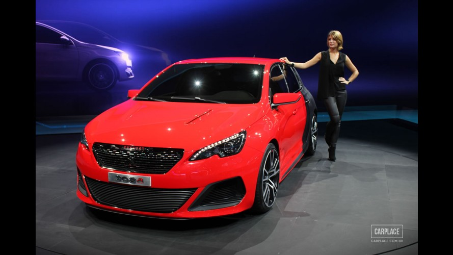 Rival do Golf GTI, Peugeot 308 R de 270 cv caminha para a produção em série