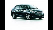 Vazou: Novo Honda Brio Amaze tem imagens divulgadas antes do previsto