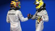 Lewis Hamilton and Nico Rosberg 24.03.2013 Malaysian Grand Prix