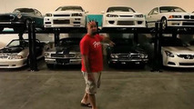 The car collection of Paul Walker