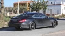 2015 Mercedes-Benz CLS63 AMG facelift spy photo