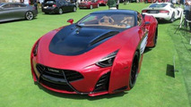 1,750 bhp Laraki Motors Epitome Concept arrives at Pebble Beach with 2M USD price tag