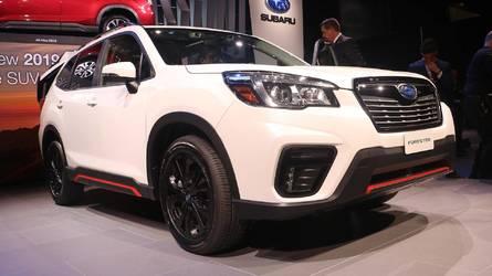 Le nouveau Subaru Forester entre en scène au salon de New York 2018
