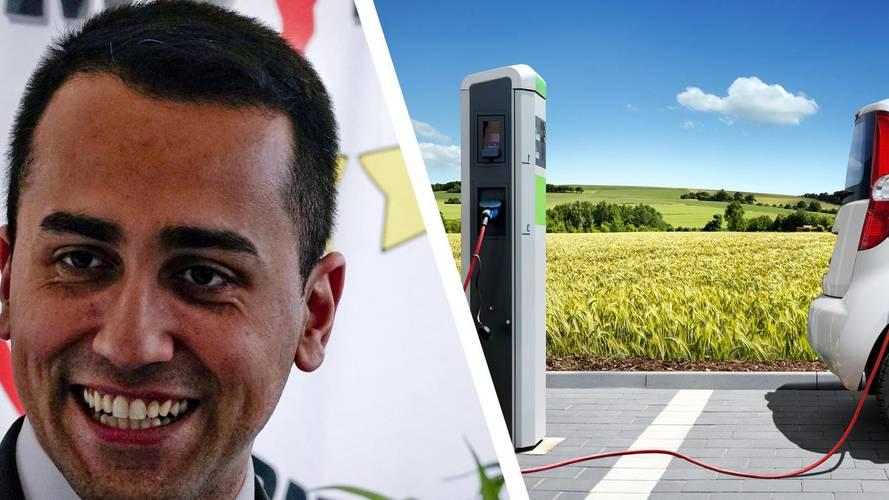 """Di Maio """"Bene stop ai diesel. Obiettivo 1 milione di elettriche entro il 2020"""""""