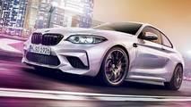 BMW M2 Competition photos en fuite