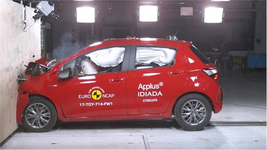 Makyajlı Toyota Yaris'e Euro NCAP'ten 5 yıldız