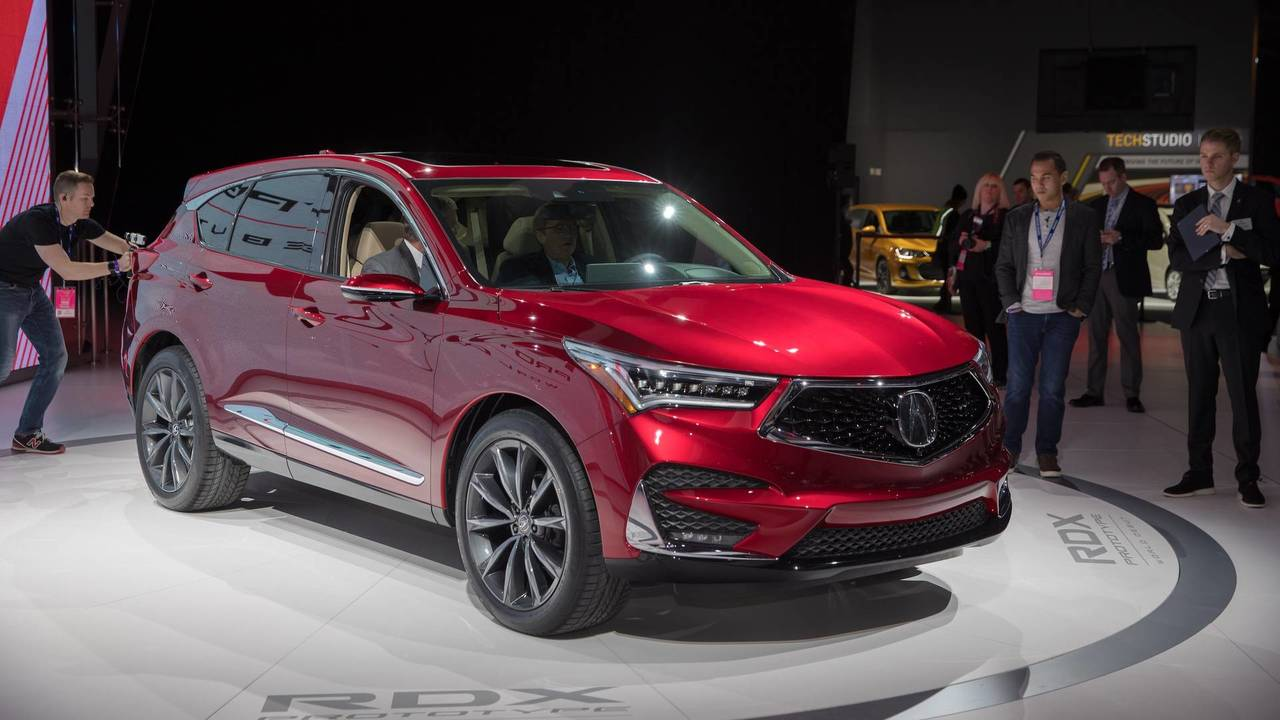 Mdx Cargo Space >> 2019 Acura RDX Prototype Packs More Power, More Luxury