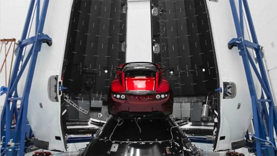 Elon Musk enverra sa Tesla dans l'espace le 6 février prochain