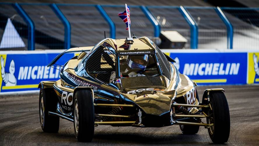 Coulthard defeats Solberg to win 2018 Race of Champions
