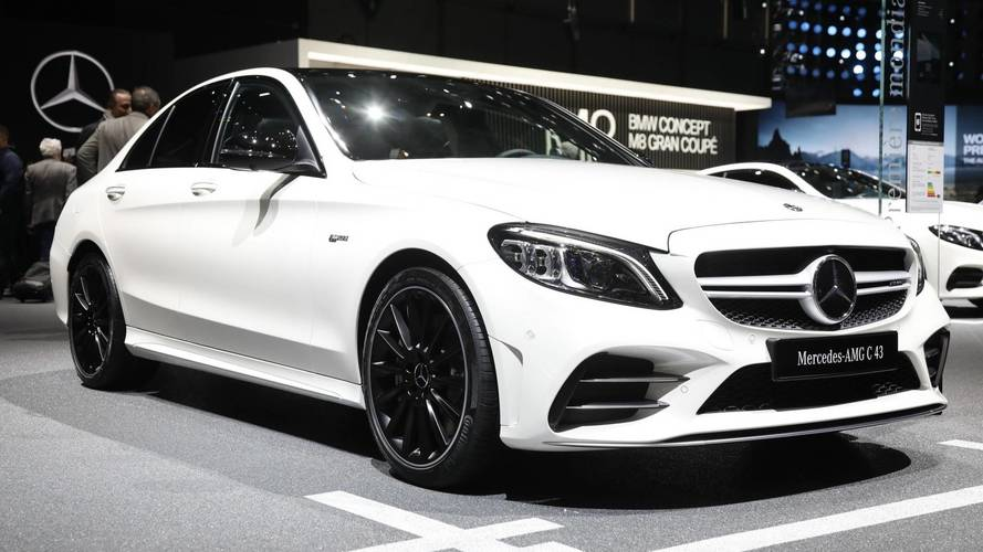 Mercedes has revealed facelifted C-Class
