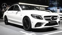Mercedes-AMG C43 at the 2018 Geneva Motor Show