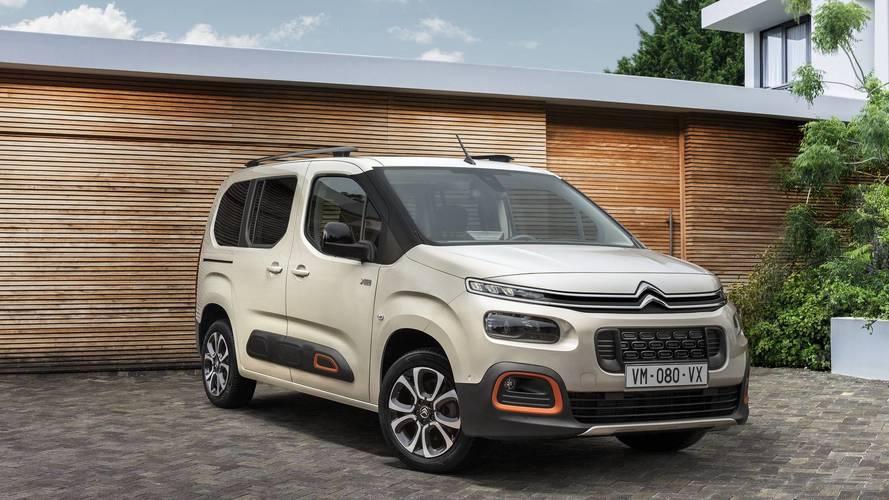 Citroën dévoile les prix du nouveau Berlingo