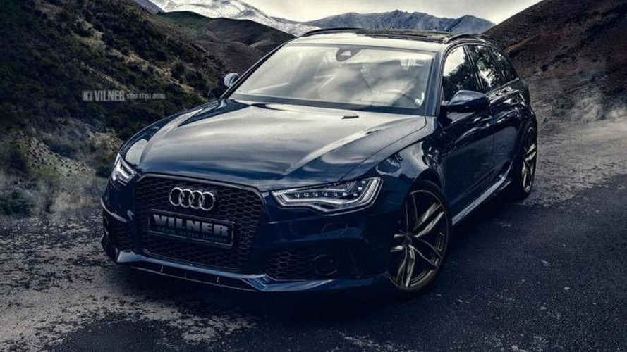Vilner freshens up a tuned Audi RS6 Avant