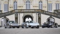 Porsche 918 Spyder, Carrera GT, 959