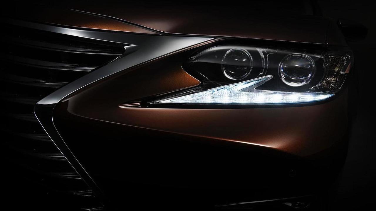 2016 Lexus ES teaser