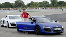 Bayern Munich stars enjoy Audi driving day
