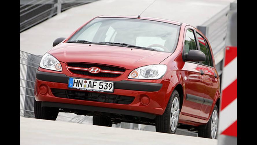 Hyundai Getz: Als Sondermodell Hit nun deutlich günstiger