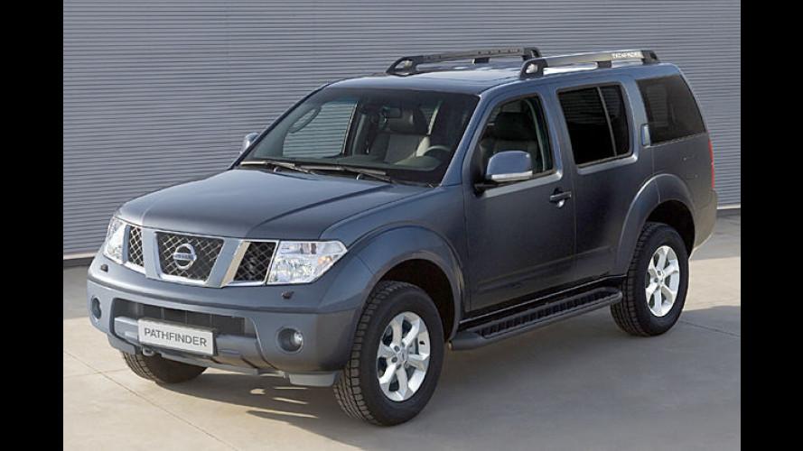 Nissan überarbeitet seine Baureihen Navara und Pathfinder