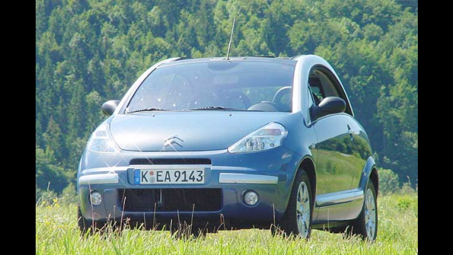 Citroën C3 Pluriel 1.4 HDi: Enten-Enkel mit Sparmotor im Test