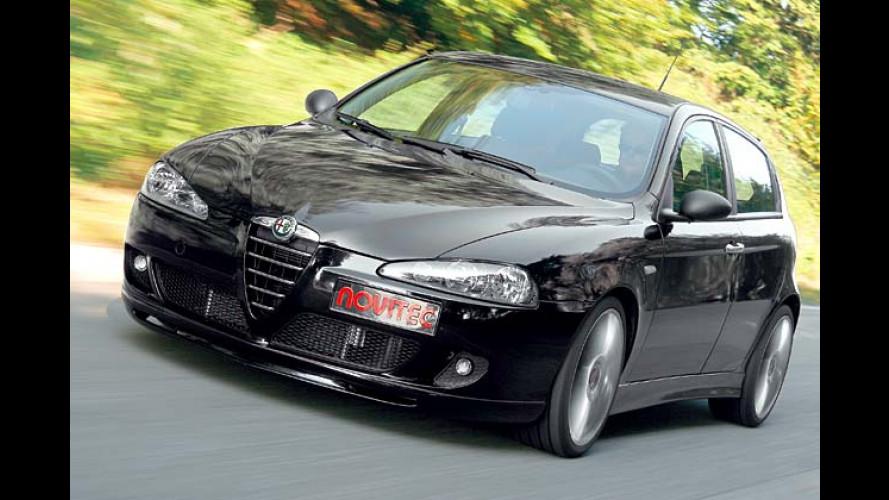 Alfa Romeo 147 1.9 JTD: Novitec gibt dem Diesel mehr Bums