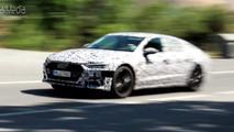 Audi A7 Sportback Spy Video