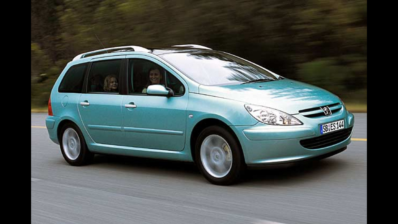 Peugeot 307 SW DVD