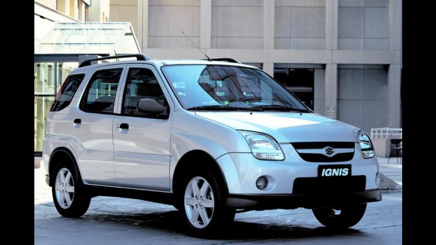 Snow-Sondermodelle: Suzuki macht Autos winterfest