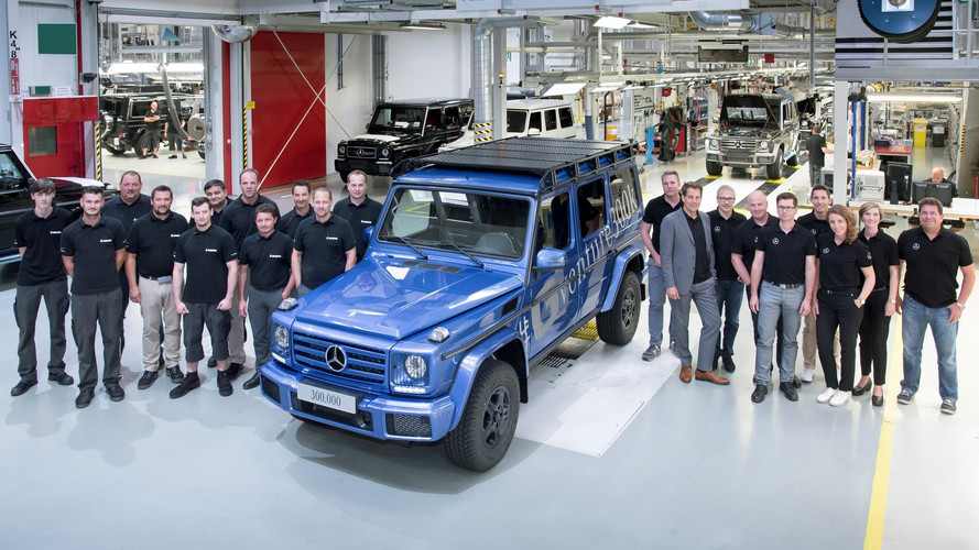 This Is Mercedes' 300,000th G-Class Produced