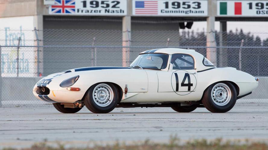 Rare Jaguar E-Type Lightweight Could Go For Millions At Auction