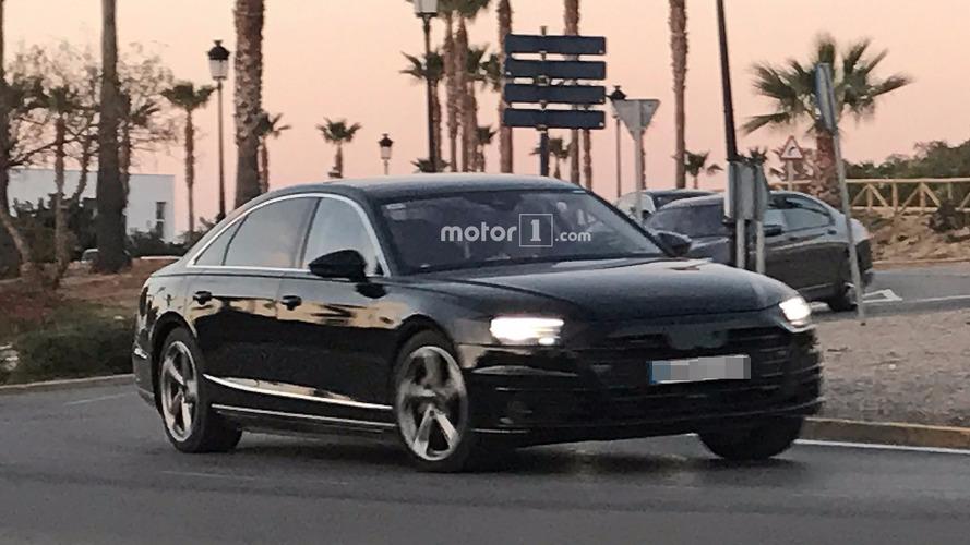 Photos espion - Audi A8
