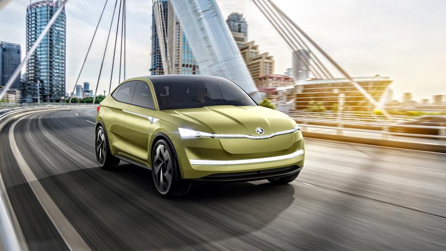 Shanghai 2017- Škoda présente son avenir en électrique avec la Vision E