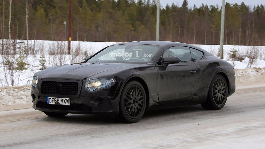 Bentley Continental GT spied with more revealing camo