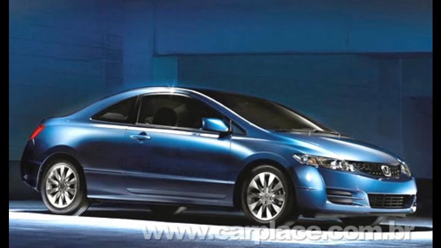 Honda apresenta linha 2009 do New Civic Coupé nos Estados Unidos