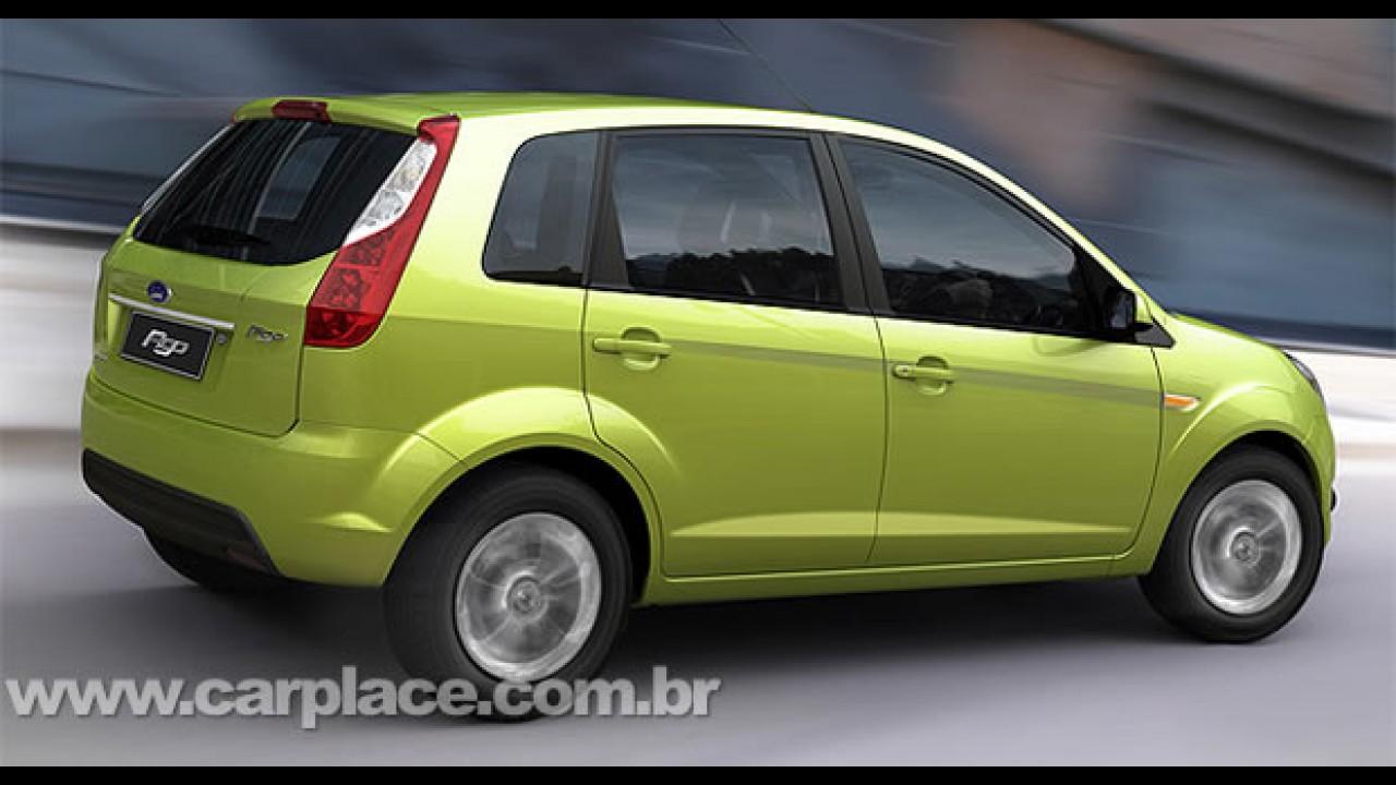 Revista diz que Ford Fiesta brasileiro receberá o mesmo visual do indiano Figo no ano que vem