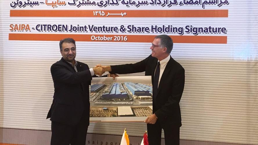 PSA et Saipa finalisent leur accord pour Citroën en Iran