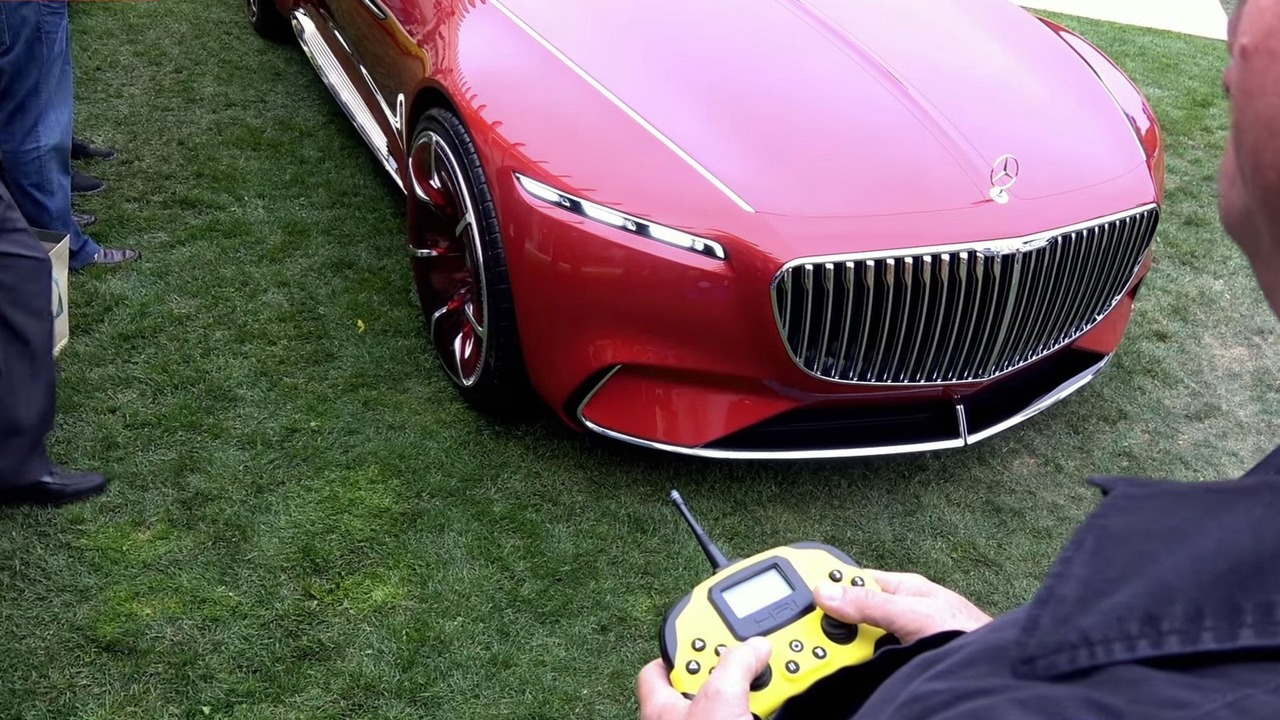 Vision Mercedes-Maybach 6 concept RC version