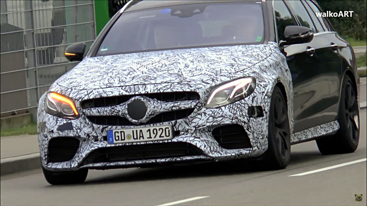Mercedes-AMG E63 video front