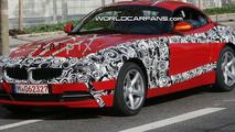 BMW Z4 vakoilukuvissa