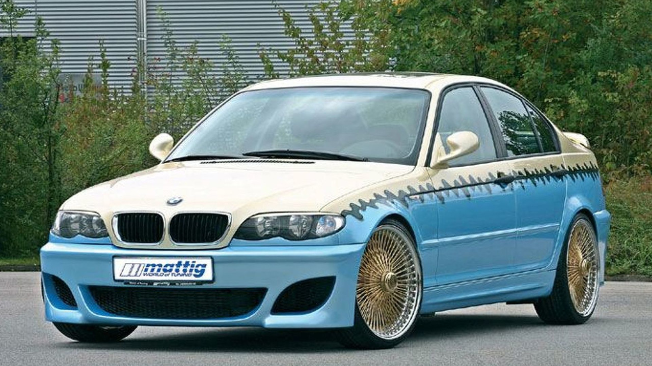 Mattig BMW 3 series in Tikki-style