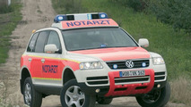 Volkswagen Touareg emergency ambulance