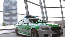 BMW M5 police car unveiled in Munich
