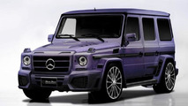 Wald International prepares a purple Mercedes-Benz G55 AMG Black Bison for SEMA
