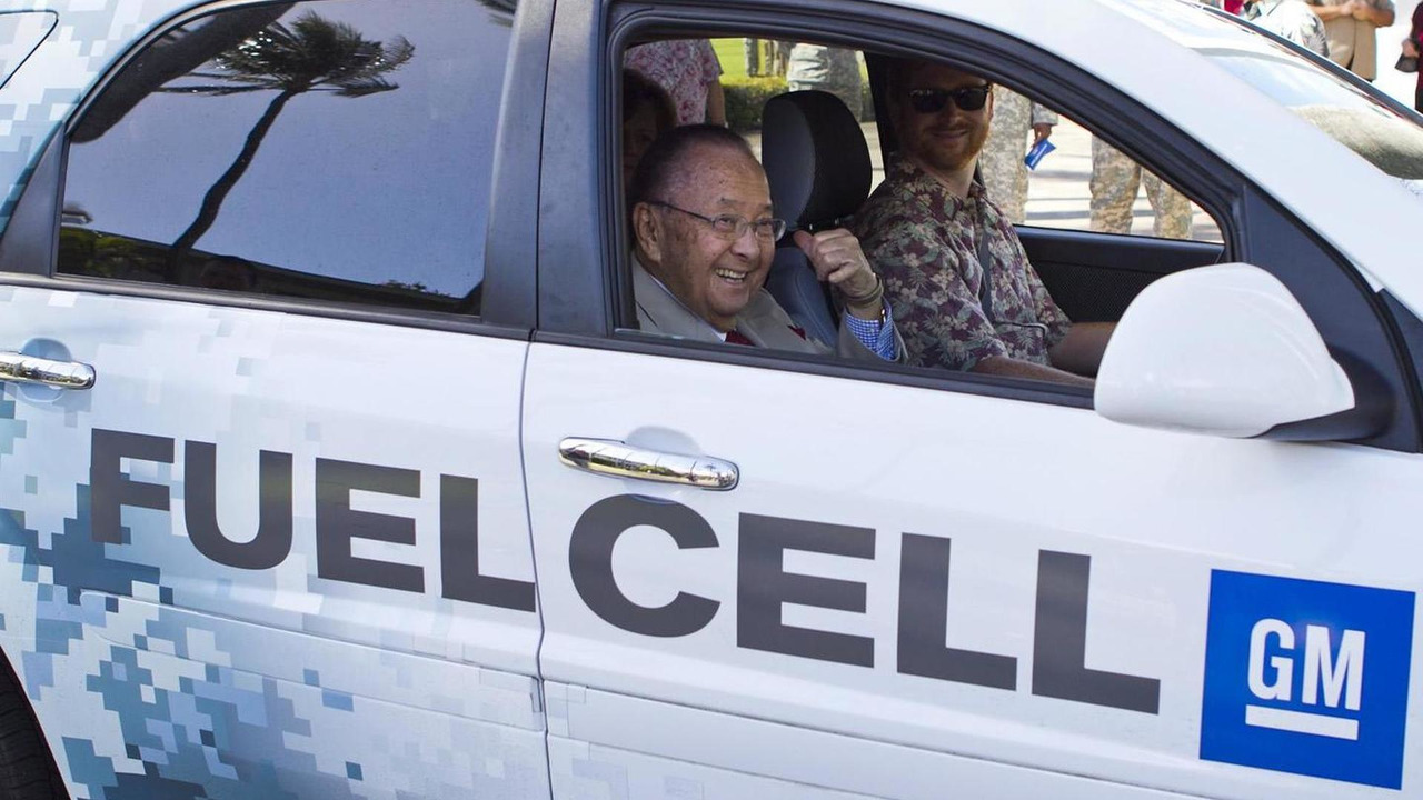 GM unleashes world's first military fleet of fuel cell vehicles