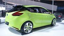 Toyota Dear Qin hatchback concept live in Beijing 23.04.2012