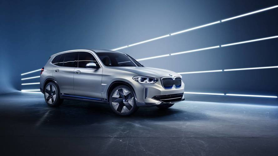 BMW unveils new all-electric SUV at Auto China show